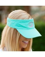 Monogrammed Visor Hats
