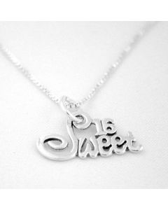 Sterling Silver Sweet 16 Necklace