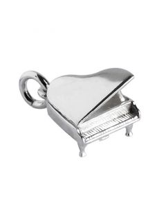 Sterling Silver Piano Charm