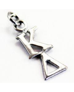 Sterling Silver Kappa Delta Lavaliere Charm