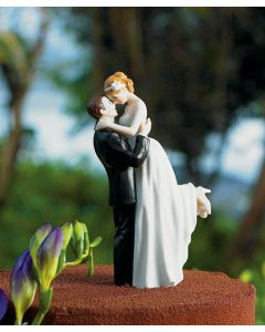 True Romance Bride and Groom Wedding Cake Topper