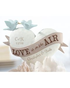 Love Is In the Air Personalized Cake Topper