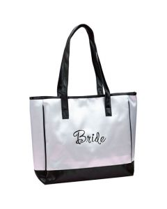 Bride Satin Tote Bag