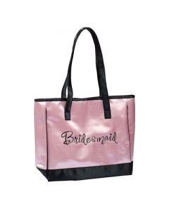Satin Bridesmaid Tote Bag