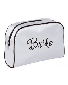 Satin Bride Cosmetic Bag