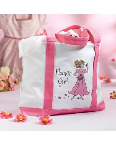 Wedding Flower Girl Tote Bag