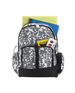 Personalized Boys Techni-Cool Grey Backpack