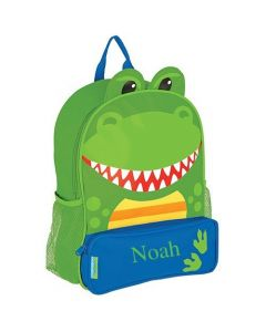 Boys Personalized Dinosaur Backpack