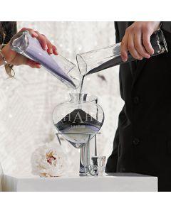 Personalized Heart Wedding Unity Sand Vase Set