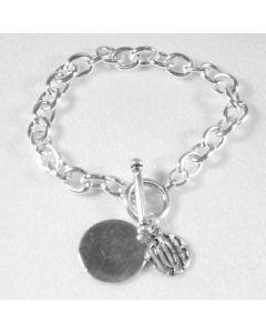 Gamma Phi Beta Charm Bracelet