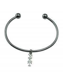 Sigma Delta Tau Bead Cuff Bracelet