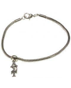 Alpha Sigma Tau Sorority Bracelet