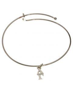 Delta Gamma Skinny Bangle Charm Bracelet