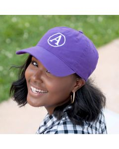 Purple Personalized Baseball Cap Hat