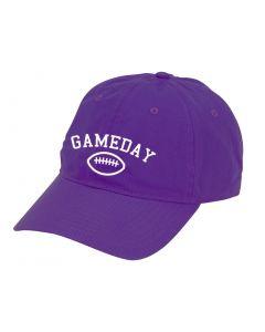 Purple Gameday Football Cap Hat