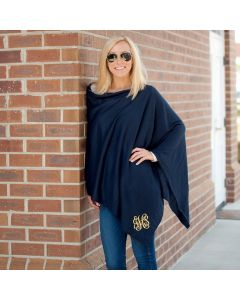 Solid Color Personalized Ponchos