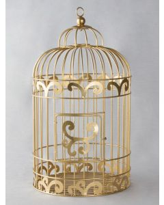 Birdcage Reception Gift Card Holder