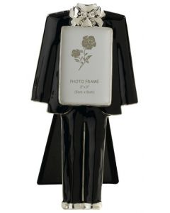 Wedding Groom Tuxedo Photo Frame