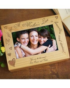 The Gift of A Mother's Love Personalized Photo Keepsake Box