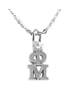 Phi Mu Lavalier Chain Necklace