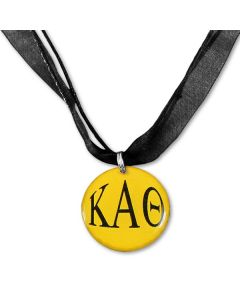 Kappa Alpha Theta Ribbon Necklace