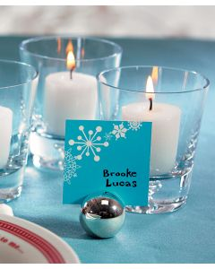 Classic Round Placecard Holders - Set of 8