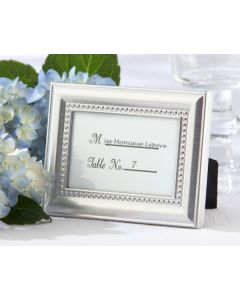 Beaded Photo Frame Placecard Holders