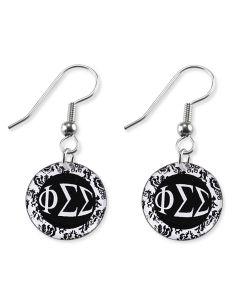 Damask Sorority Earrings