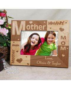 All About Mom Personalized Picture Frame