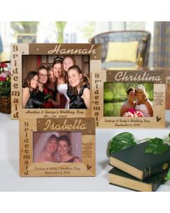 Bridesmaid Personalized Picture Frame
