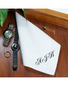 Personalized Men's Handkerchief
