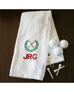 Mens Personalized Golf Towel