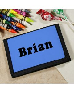 Any Color Personalized Velcro Wallet for Kids