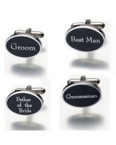 Wedding Party Personalized Cuff Links
